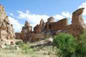 foto of semi-arid  - Architecture of Mother Nature in the Southwestern United States - JPG