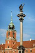 Castle Square With King Sigismund Iii Vasa Column, Warsaw.