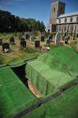 Church Graveyard Grave