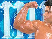 Body Building Bg002 poster