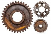 Three Rusty Gears