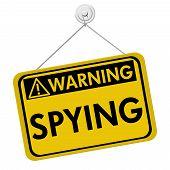 Warning Of Spying