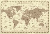 image of continents  - Retro - JPG