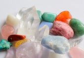 stock photo of quartz  - Collection of semi - JPG