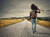 young musician on the road to success