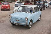 Old Italian Economy Car