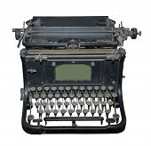 The Typewriter Of The Beginning Of 20 Centuries