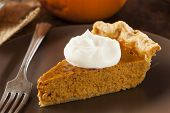 foto of pumpkin pie  - Homemade Delicious Pumpkin Pie made for Thanksgiving