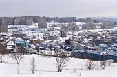 pic of murmansk  - Winter view of Murmansk city - JPG
