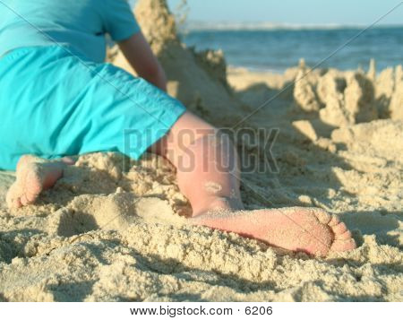 Playing In The Sand poster