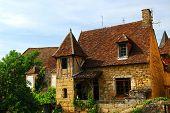 Medieval house in Sarlat, Dordogne region, France