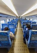 Interior of Hikari Shinkansen