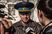 Belbek Military Base ?4515 In Crimea, Ukraine