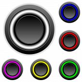 Empty Buttons Set