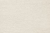 Pale Beige Coarse-grained Texture Of Rough Fabric
