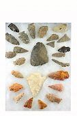 Indian Arrowheads From Western New York