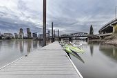Moorage At Portland Downtown Waterfront