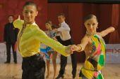 Abierto concurso de baile latino, 14-15 años