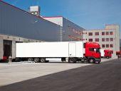 Truck Warehouse Logistic