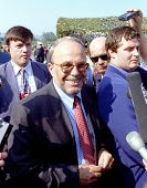 TIRANA, ALBANIA,  18 August 1998 --- Albanian Prime Minister Fatos Nano.