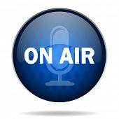 on air internet blue icon