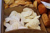 Oscypek - traditional polish smoked sheep cheese