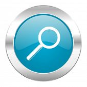 search internet blue icon