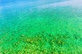 Emerald green ocean, Okinawa