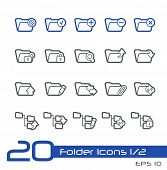 Folder Icons - 1 of 2 // Line Series