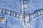 Denim Pants Close Up