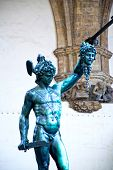stock photo of perseus  - Perseus with the head of Medusa - JPG