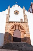 Gothic Main Portal Of Silves Cathedral
