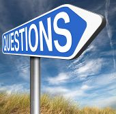 questions and solutions ask our support desk team information answer question with text and word con