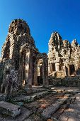 Bayon - ancient buddhist khmer temple in Angkor Wat complex, Cambodia