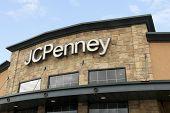 J C Penney Sign