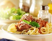 stock photo of meatballs  - italian food  - JPG