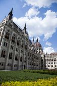 Budapest, view of parliament,Hungary