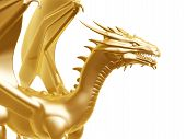 Golden Fire Dragon