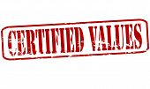 Certified Values