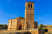 foto of templar  - Veracruz medieval church ancient templar church in Segovia Spain - JPG
