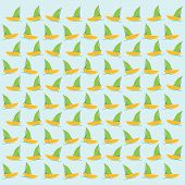 boat or sailboat pattern background vector