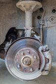 Defective Brake Disc