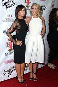 LOS ANGELES - SEP 13:  Cheryl Burke, Kym Johnson at the 2014 Brent Shapiro Foundation Summer Spectac