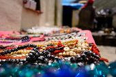 handicrafts seller on the way