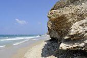 Mediterranean Sea Beach, Israel
