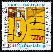 Postage Stamp Germany 1999 Erich Kastner, Writer