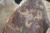 Petroglyphs Of Wyoming