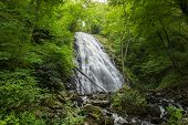 Crabtree Falls In North Carolina