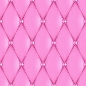 luxury pink leather upholstery seamless pattern