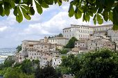 View from the town of Orvieto